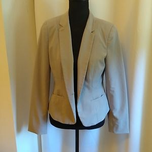 Worthington Basic Grey Blazer, fully lined